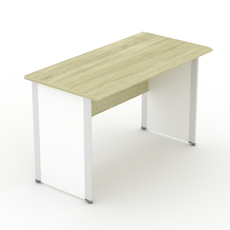 Meja kerjasetengah biro dan satu biro