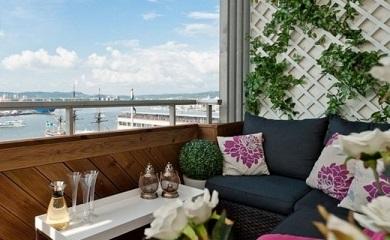 Balkon Untuk Bersantai
