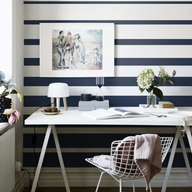 wallpaper MotifDinding Garis
