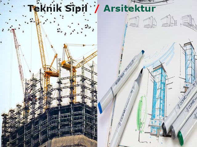 Perbedaan Antara Arsitek dan Insinyur Sipil