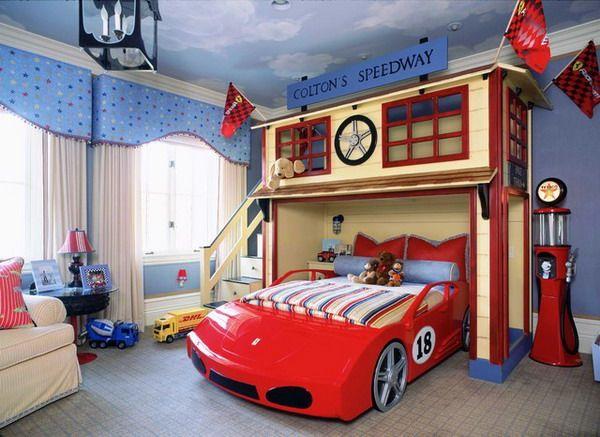 Kamar Tema Mobil-Mobilan