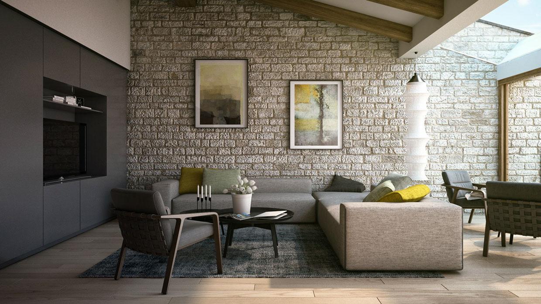 Aneka Rupa Wallpaper 3D Untuk Ciptakan Desain Ruang Tamu