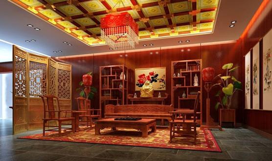 Desain Interior China Santun dan Berwibawa