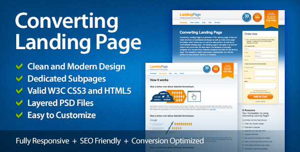 Landingpage Website