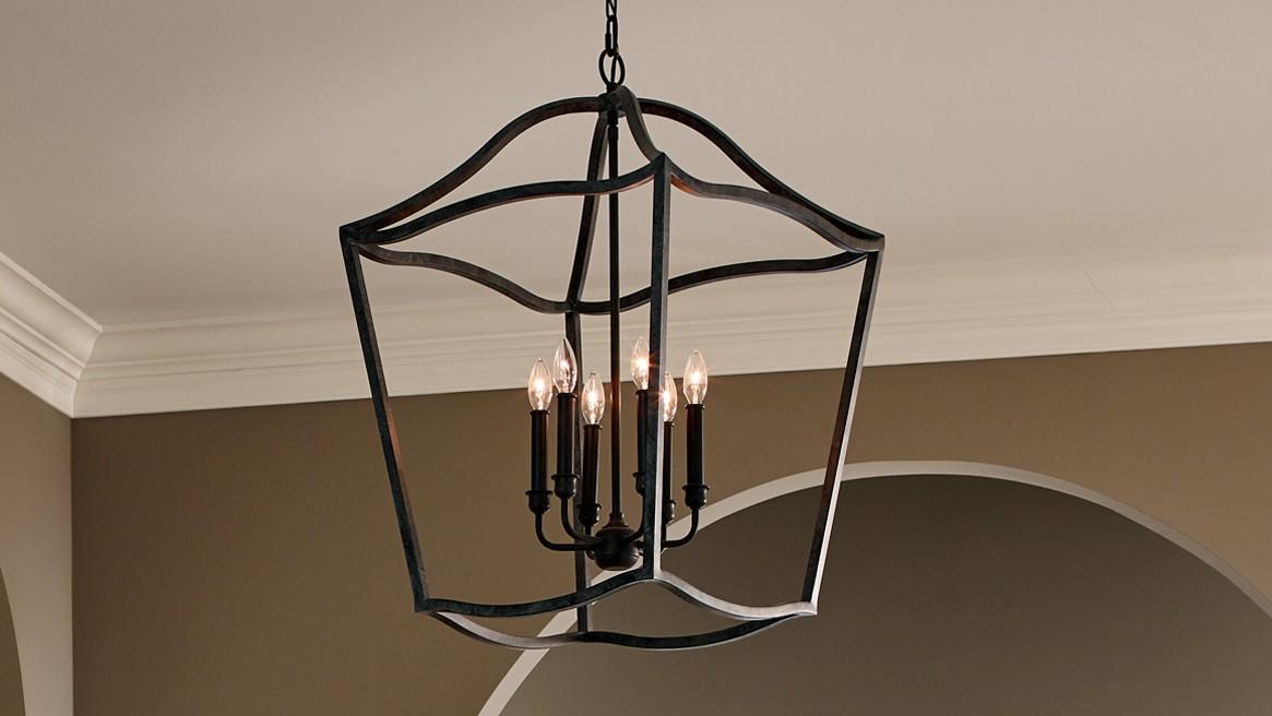 Lampu Gantung Model Foyer light