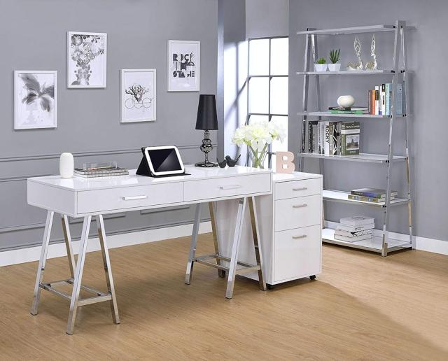 Meja Kerja Putih