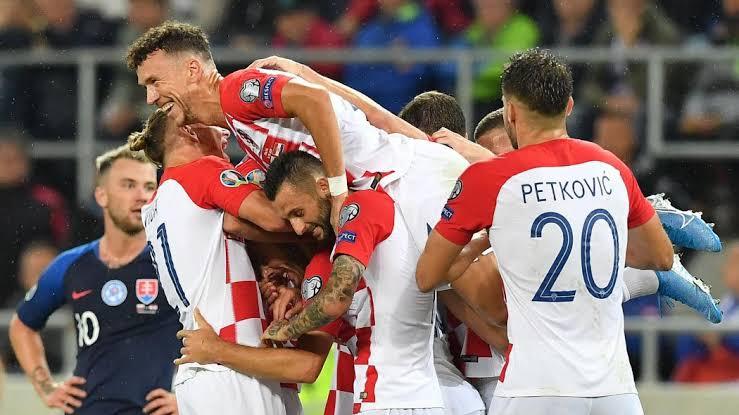 Kroasia Unggul Atas Slovakia