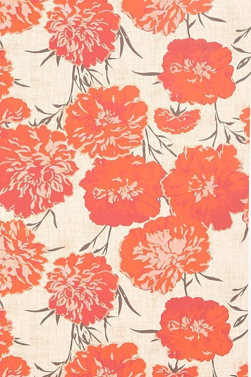 Wallpaper Flowers Koral