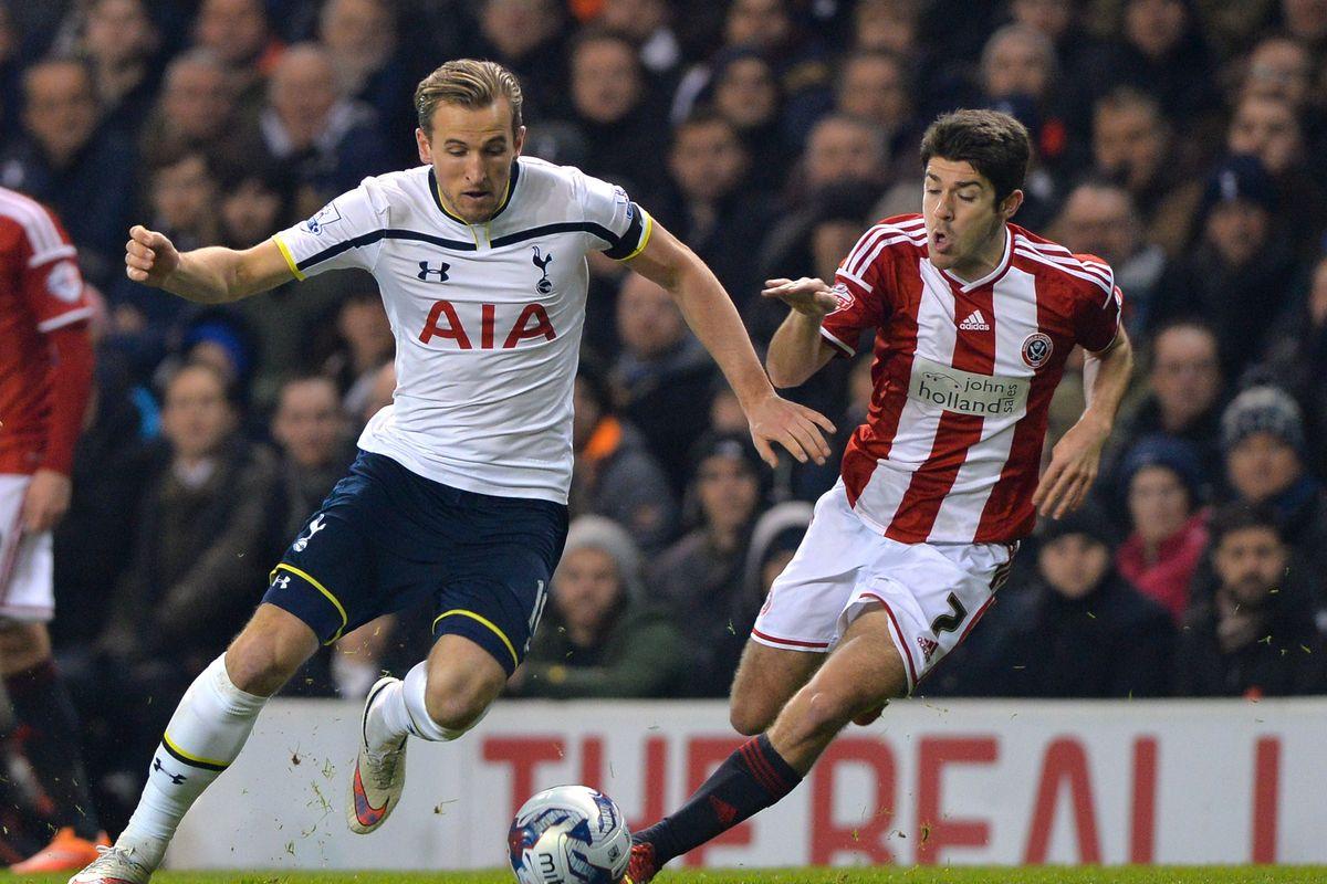 Drama Gol Dianulir Dalam Pertandingan Liga Inggris antara Sheffield melawan Tottenham Hotspur