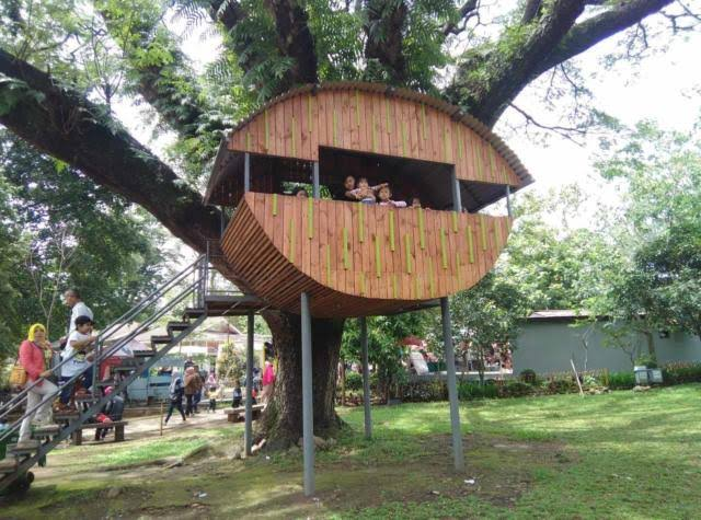 Salah Satu Sudut Taman
