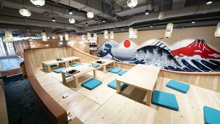 Desain Restoran Khas Jepang