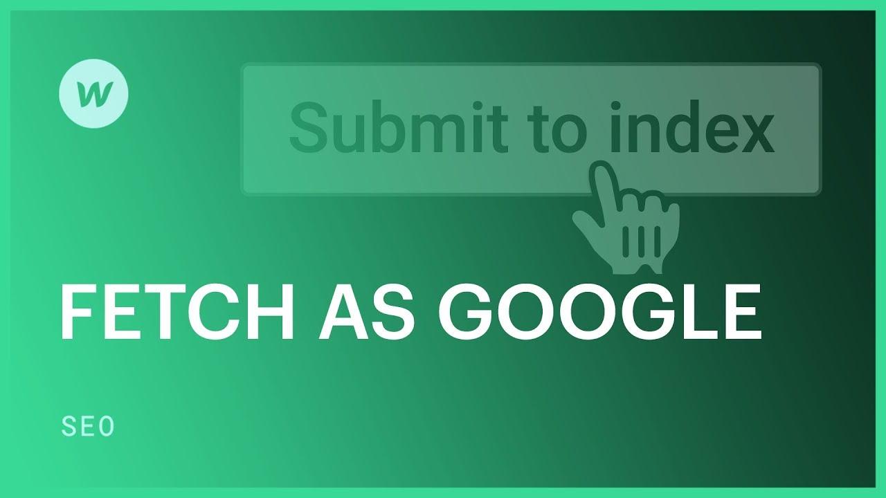 Cara Penggunaan Fetch As Google