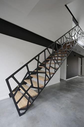 Desain Railing Tangga Untuk Konsep Rumah
